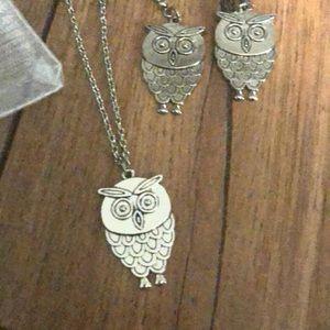 🆕 Owl Jewelry Set